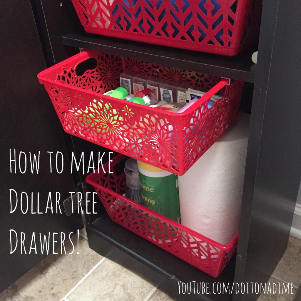 Quick Diy Dollar Tree Bathroom Decor 2 For 5 Youtube: Space-Saving Dollar Tree DIYS