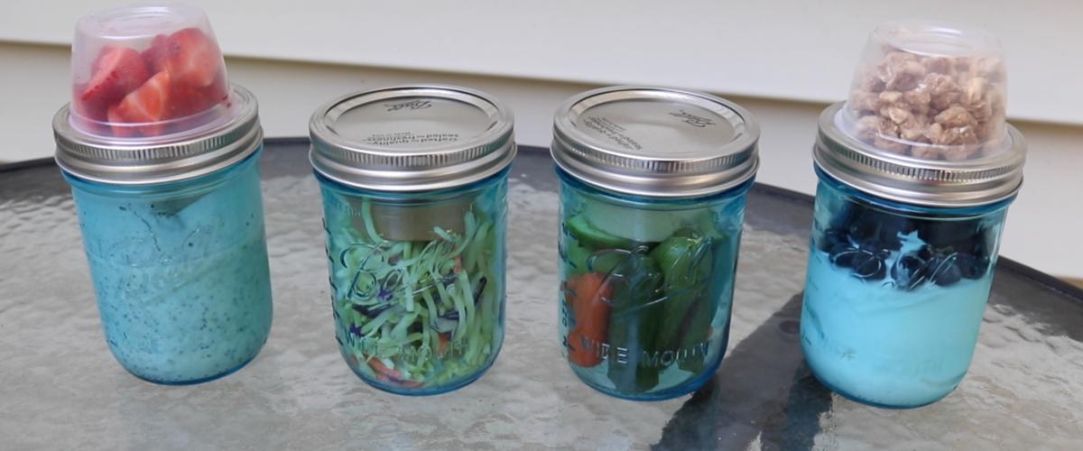 Five Minute Meal Prep    Mason Jar Hacks!
