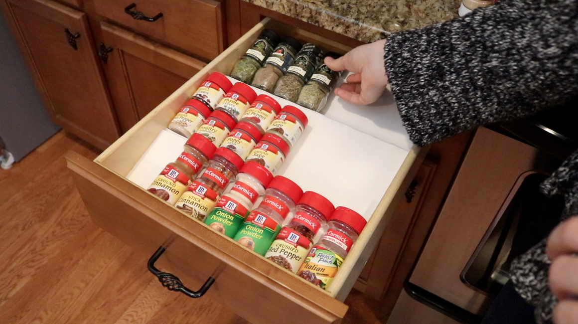 Best Dollar Tree Kitchen Hacks For Your Spice Drawer